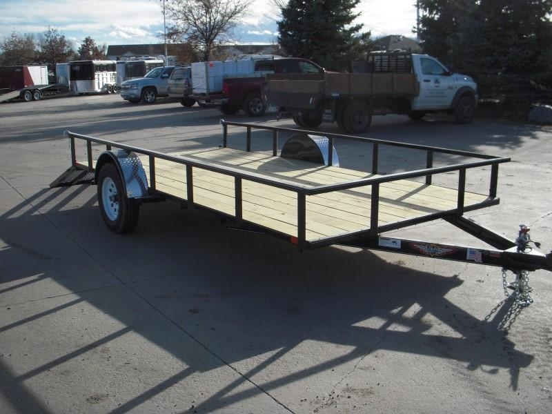 2018 H&H H8214RS-030 Utility Trailer