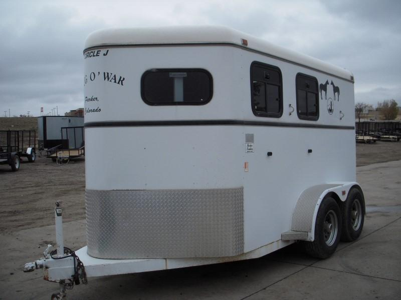 1996 Other 2H SLANT Horse Trailer