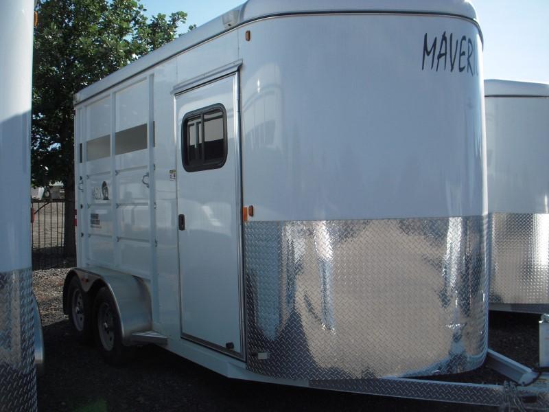 2018 Maverick MAV2H-7K Horse Trailer