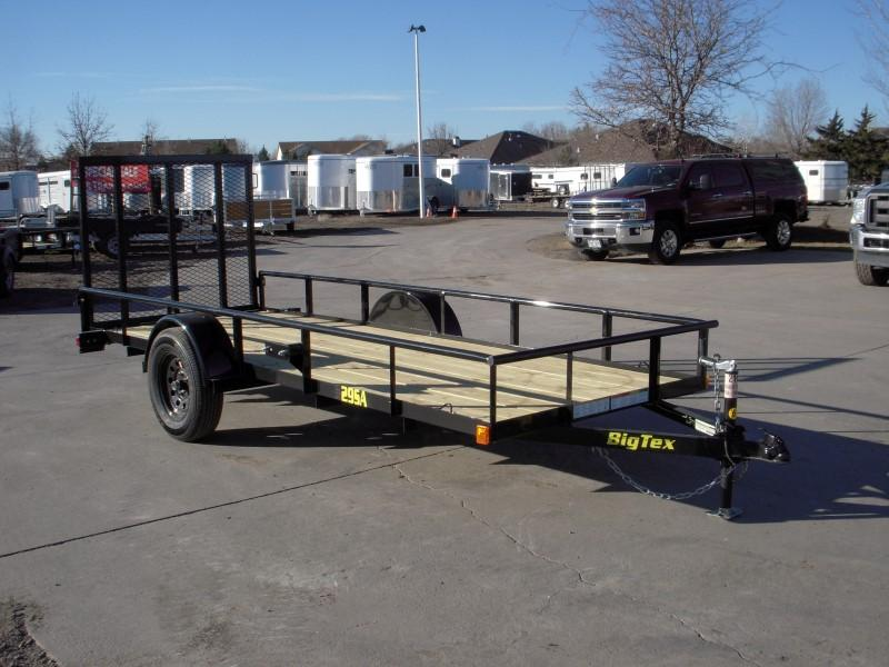 2018 Big Tex Trailers 29SA-14BK Utility Trailer