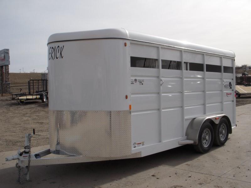 2018 Maverick MAV3HS-7K Horse Trailer