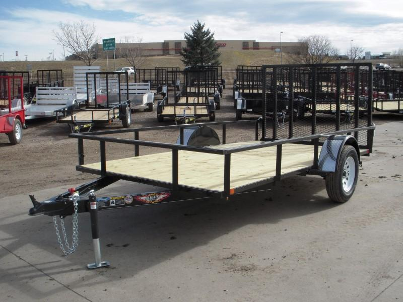 2018 H&H H7612RS-030 Utility Trailer