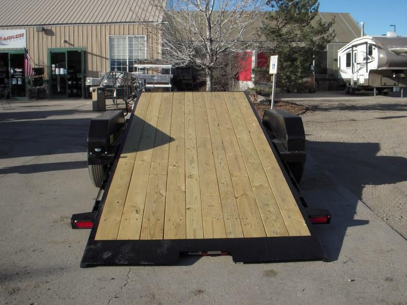 2018 Big Tex Trailers 14TL-20BK Flatbed Trailer