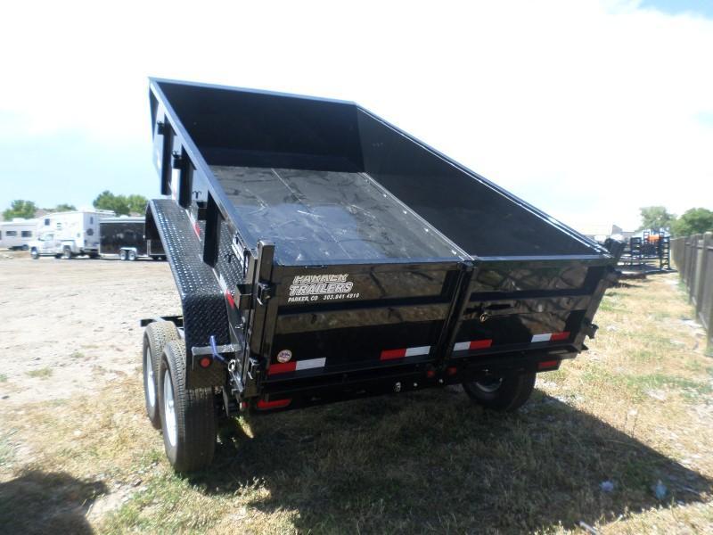 2017 Big Tex Trailers 12LX-12BK7SIRPD Dump