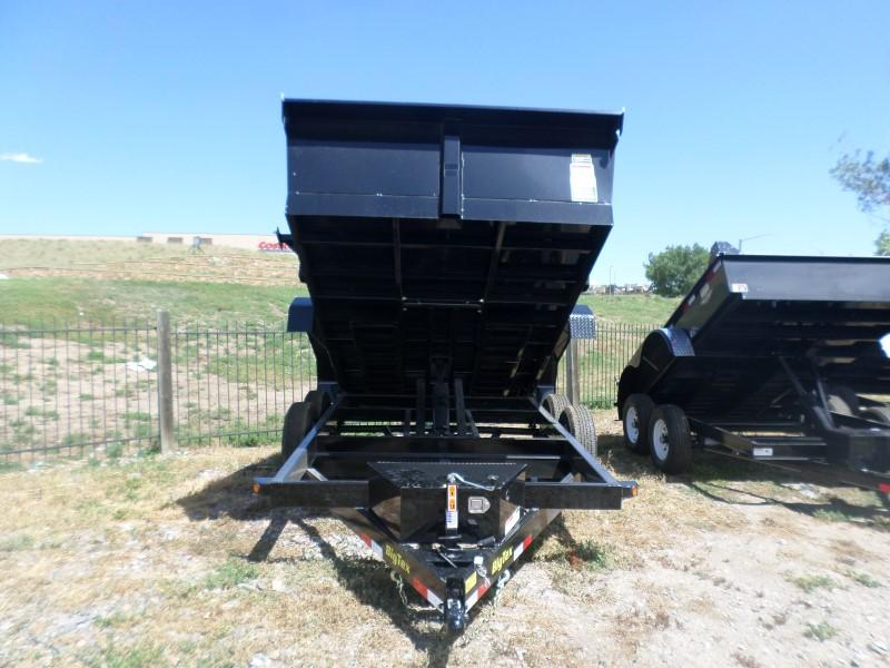 2017 Big Tex Trailers 12LX-12BK7SIRPD Dump