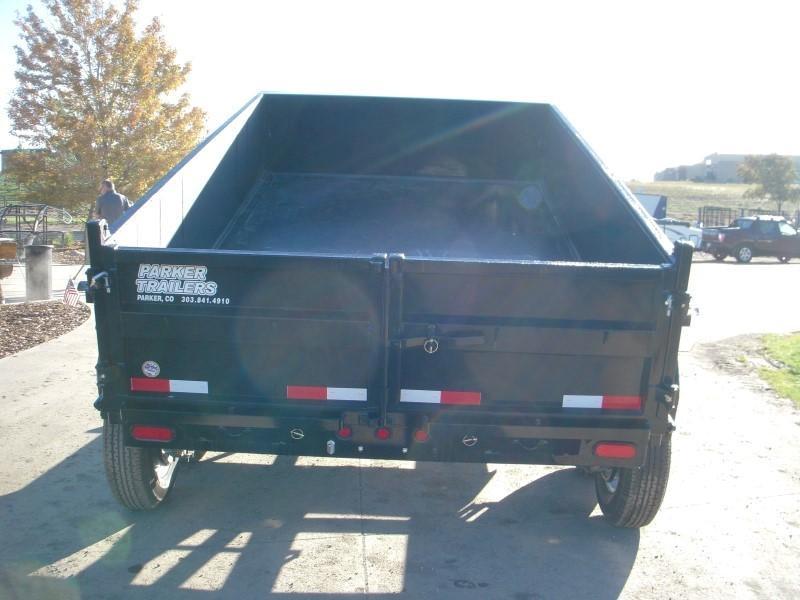 2018 Big Tex Trailers 10LX-12BK7SIR Dump