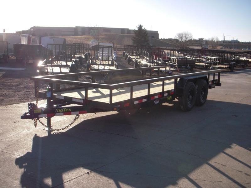 2018 Big Tex Trailers 14PI-20BK Utility Trailer