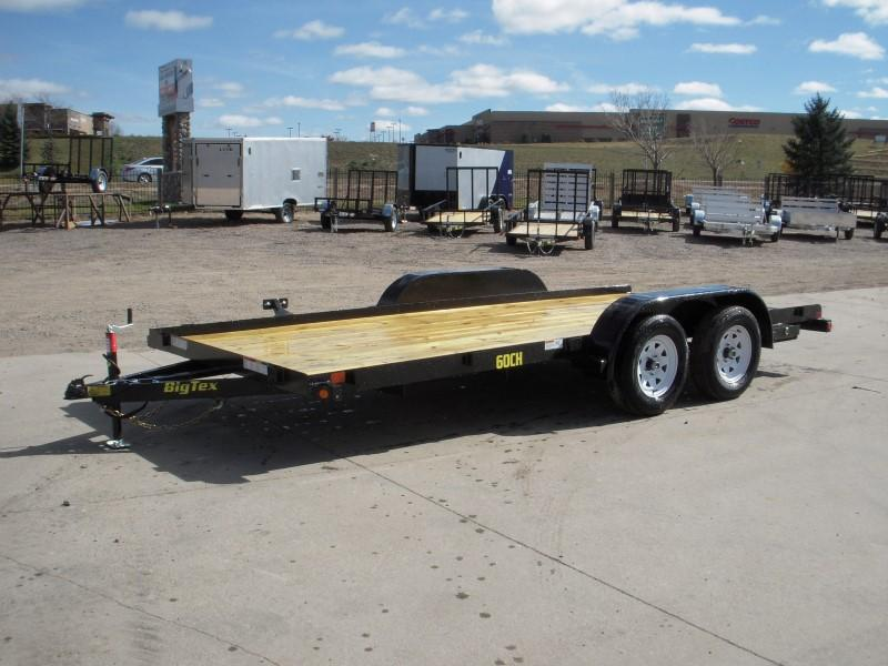 2018 Big Tex Trailers 60CH-16BK Flatbed Trailer
