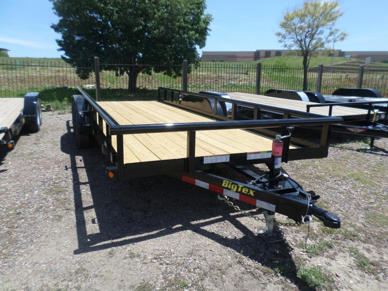 2017 Big Tex Trailers 10PI-20BK Flatbed Trailer