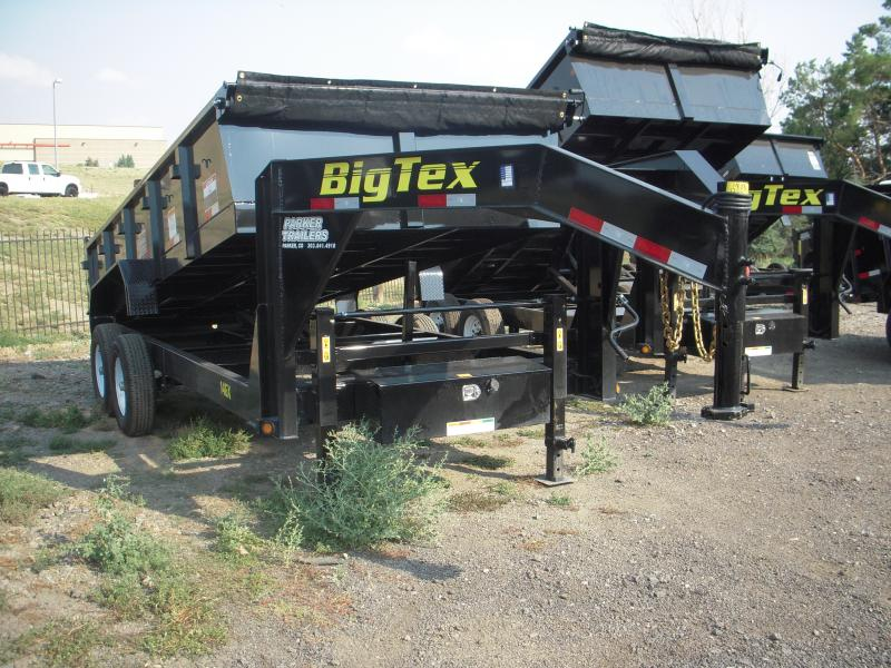 2018 Big Tex Trailers 14GX-16BK7SIRPD Dump