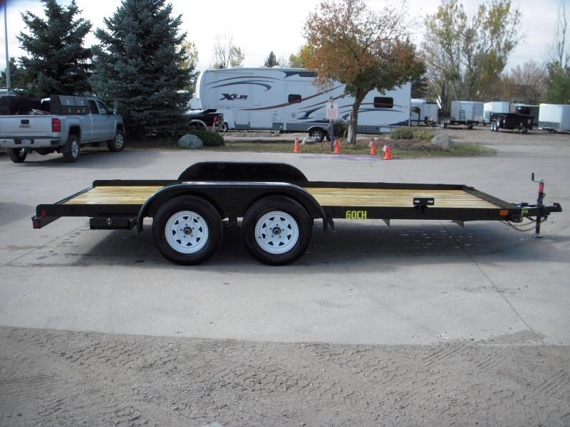 2018 Big Tex Trailers 60CH-16 Flatbed Trailer
