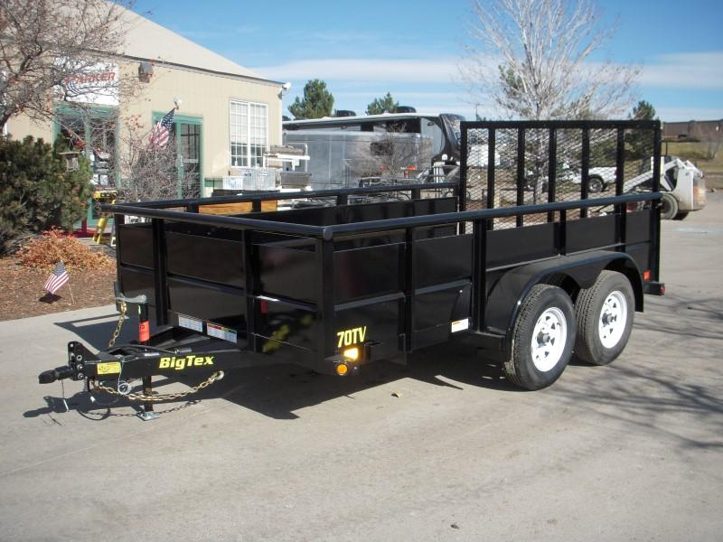 2018 Big Tex Trailers 70TV-14 Utility Trailer