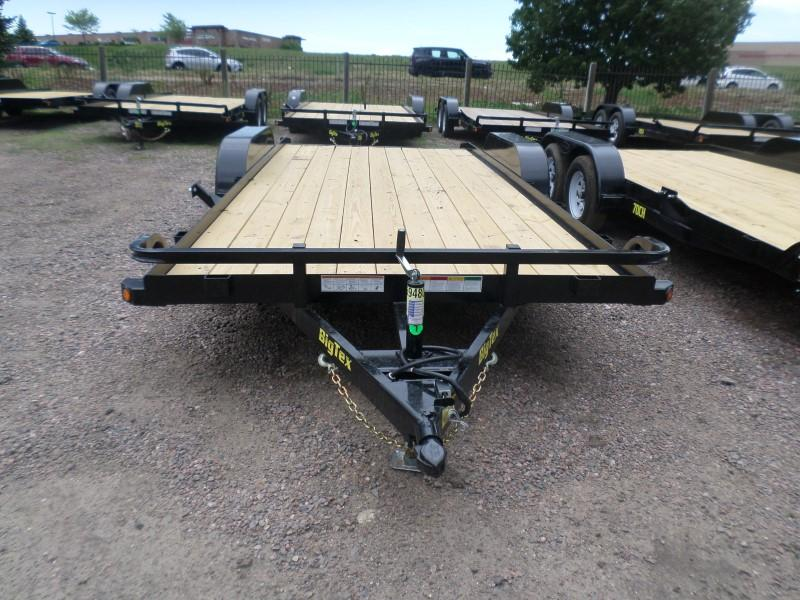 2017 Big Tex Trailers 70CH-18BKDT Flatbed Trailer