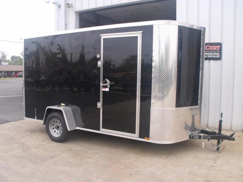 Enclosed Trailer 6 X 12 Barn Doors 6 6 Interior All Tube