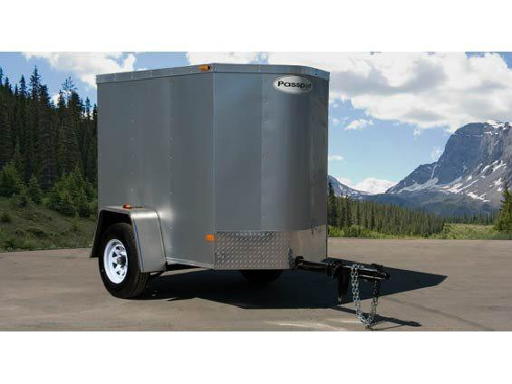2015 Haulmark Trailers PPT4X6DS2 Enclosed Cargo Trailer