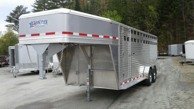 2017 Frontier 20 Livestock Livestock Trailer