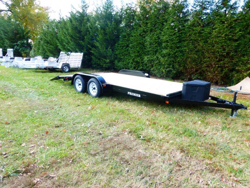 Premier 7' x 18' Wood Deck Car Hauler 7K