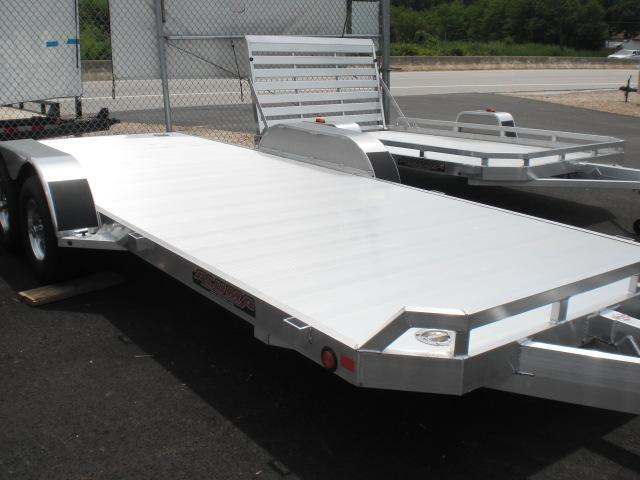 Car Trailers | New enclosed cargo utility landscape equipment car ...