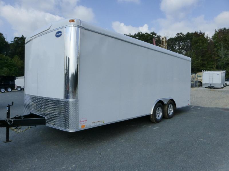 United 8 5 X 20 Enclosed Car Hauler New Enclosed Cargo Utility