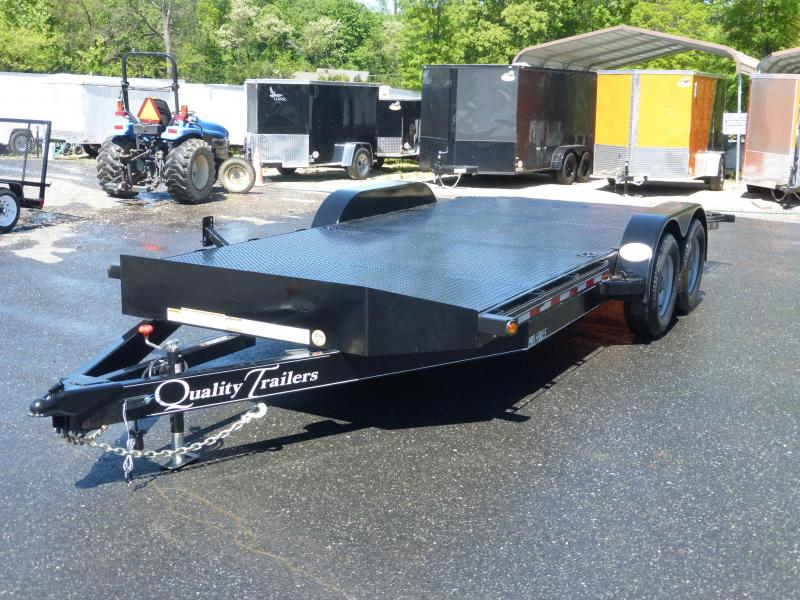 Quality Trailers 7 X 20 Solid Deck Pro Series Car Hauler New
