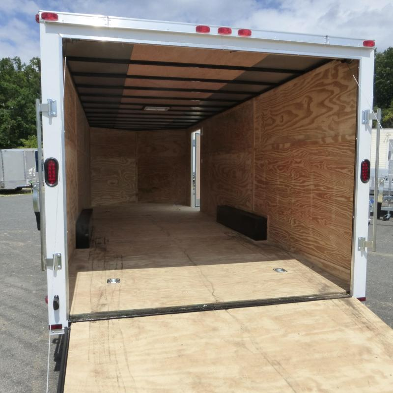 Lark 8.5 x 24' V Nose Car Hauler Trailer