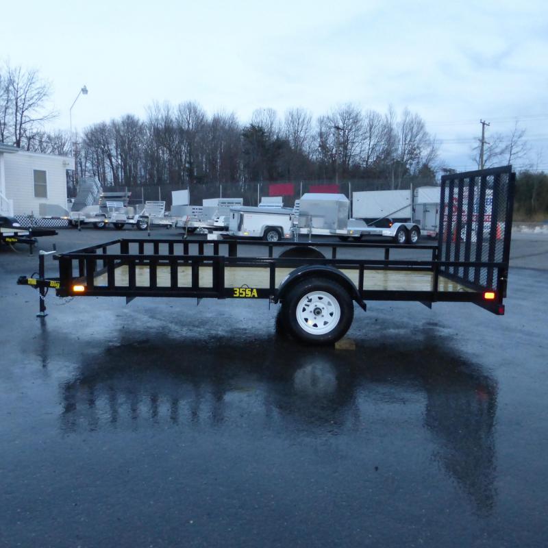 Big Tex Trailers 7' x 14' Single Axle ATV Trailer w/ removable ramps