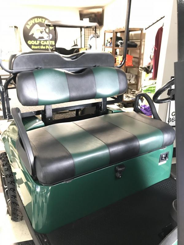 2016 Pre-Owned E-Z-GO TXT Gas Golf Cart Green