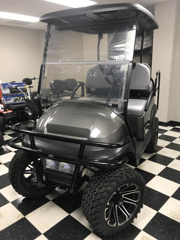 2014 Club Car Precedent Electric Golf Cart Black Grey