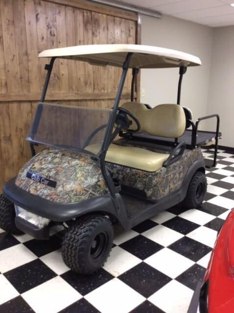 2013 Pre-Owned Precedent - Club Car - Electric - Camouflage