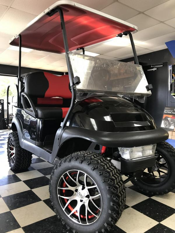 2014 Pre-Owned Club Car Precedent Electric Golf Cart Black