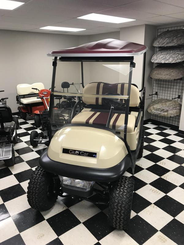 2012 Preowned Club Car Precedent Gas Golf Cart Beige