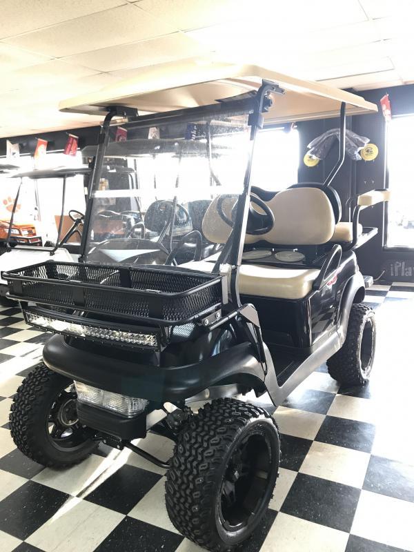 2013 Pre-Owned Club Car Precedent Gas Golf Cart Black