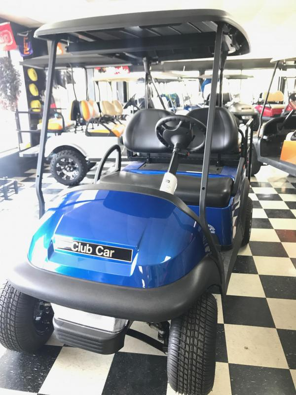 2017 New Villager 4 - Club Car - Gas - Blue