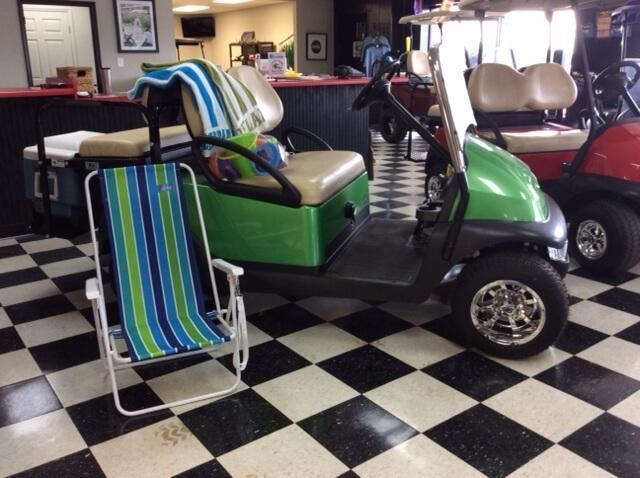2013 Pre-Owned Precedent - Club Car - Electric - Synergy Green