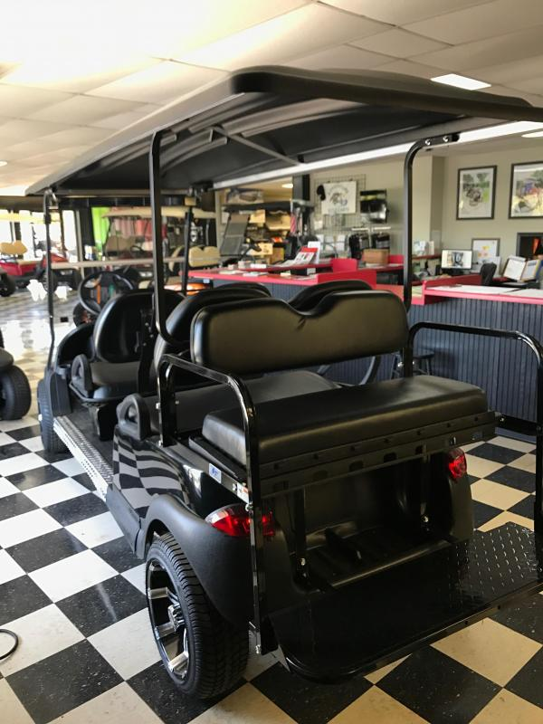 2013 Pre-Owned Precedent - Stretch - Club Car - Electric - Black