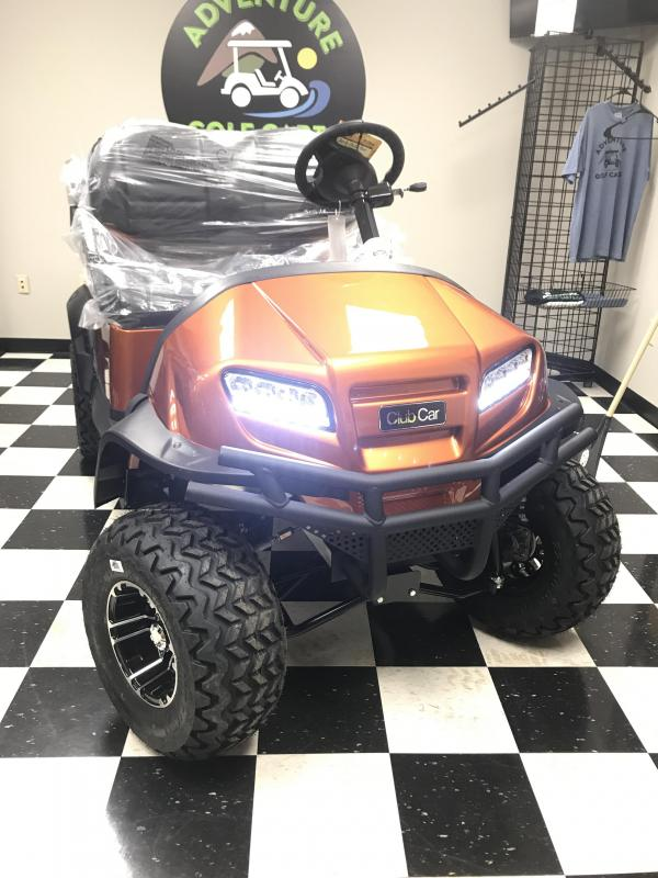 2018 New Club Car Onward Gas Golf Cart Orange