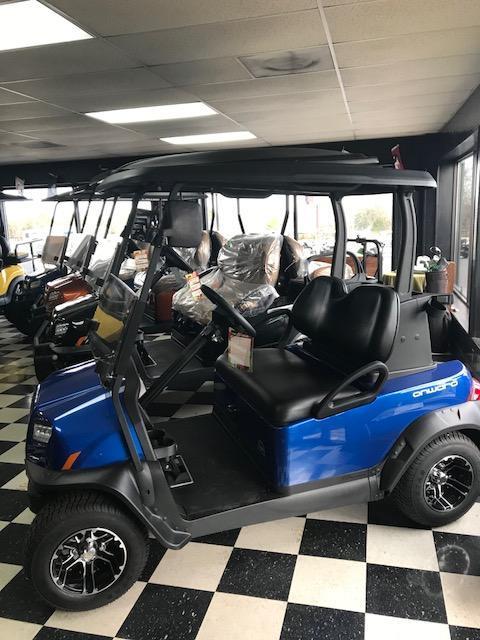 2017 New Onward - Club Car - Electric - Blue