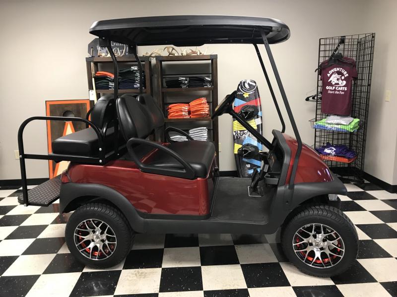 2017 Club Car Precedent Villager 4 Gas Golf Cart Red