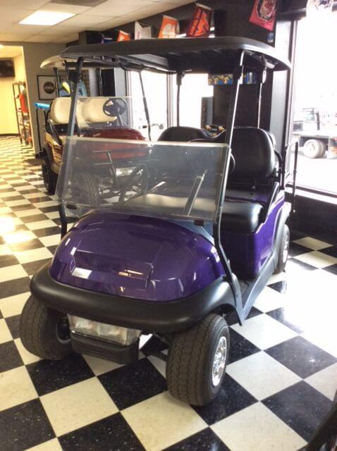 2013 Pre-Owned Precedent - Club Car - Electric - Purple