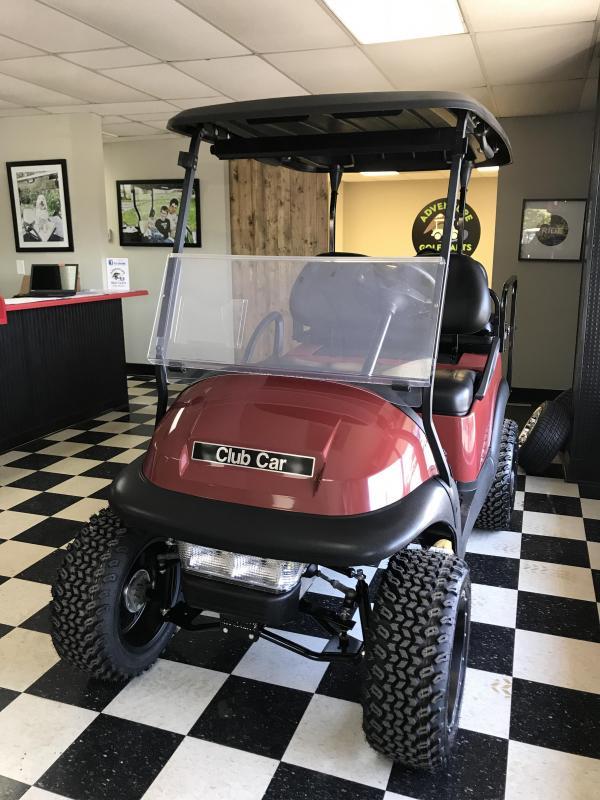 2014 Pre-Owned Club Car Precedent Electric Golf Cart Orange