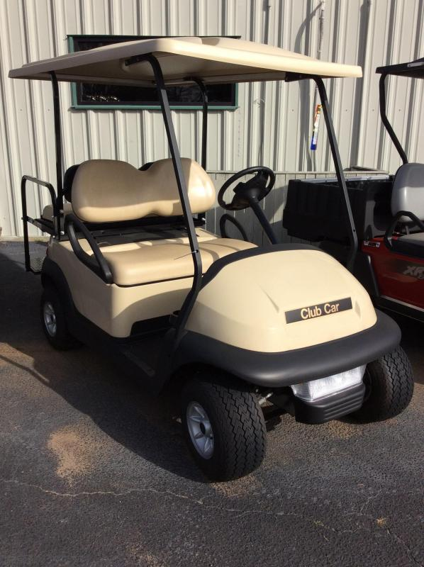 2012 Pre-Owned Club Car Precedent Gas Golf Cart Beige