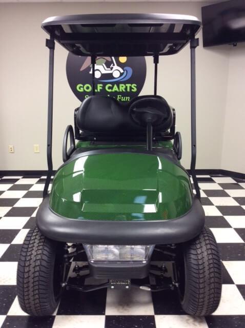 2013 Pre-Owned Precedent - Club Car - Electric - Green Carbon Fiber