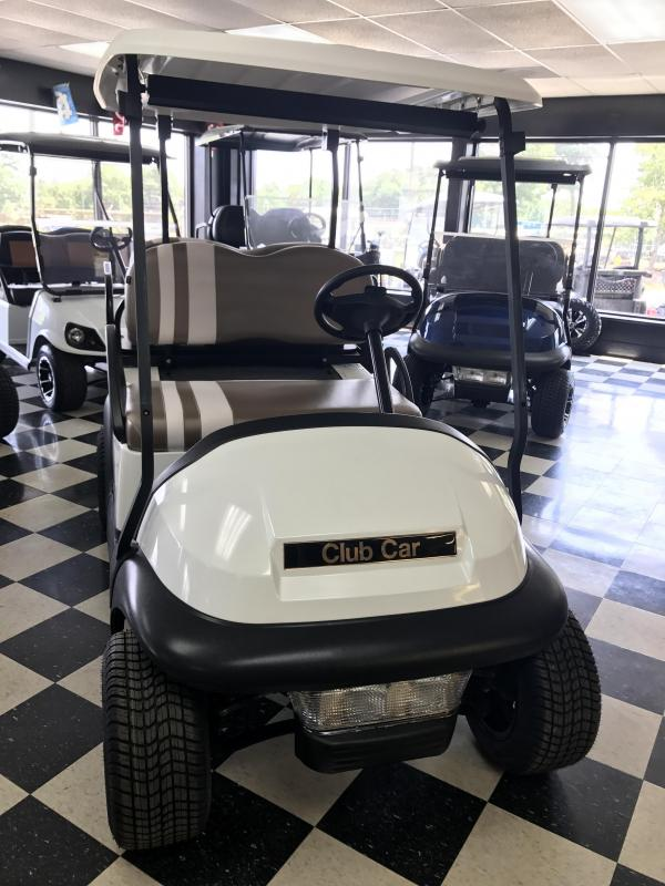 2014 Pre-Owned Club Car Precedent Electric Golf Cart White