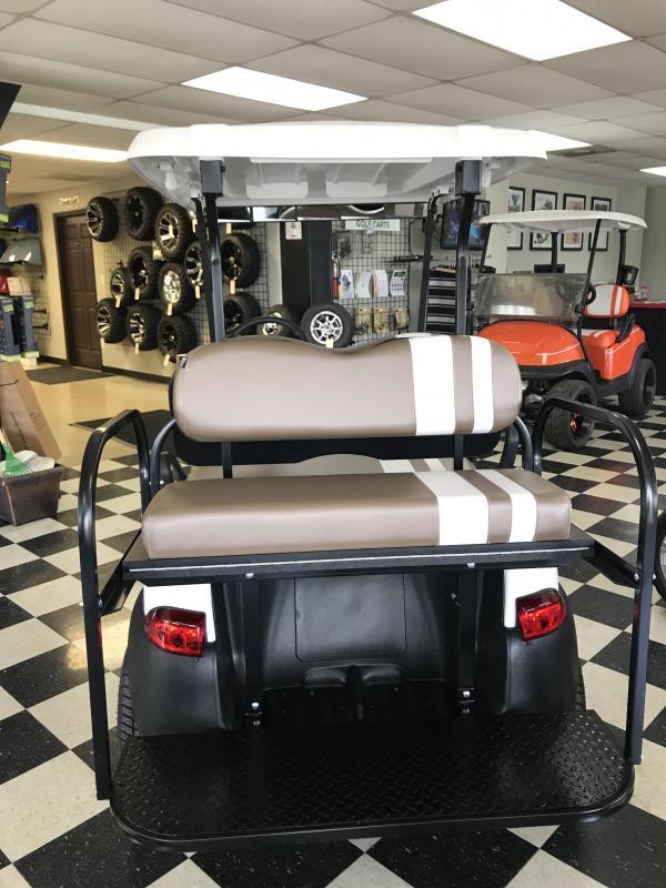 2014 Pre-Owned Club Car Precedent Electric Golf Cart White