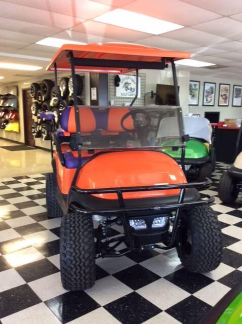 2013 Pre-Owned Precedent - Club Car - Electric - Metallic Orange
