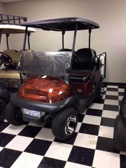 2013 Pre-Owned Precedent - Club Car - Electric - Woodgrain