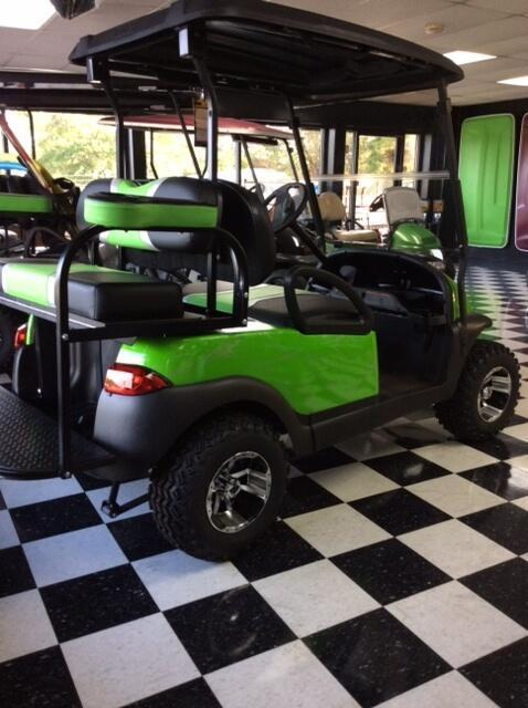 2013 Pre-Owned Precedent - Club Car - Electric - Lime Marble