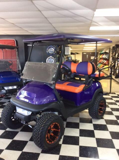 2014 Pre-Owned Precedent - Club Car - Electric - Metallic Purple