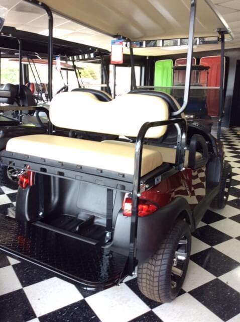 2014 Pre-Owned Precedent - Club Car - Electric - Burgundy