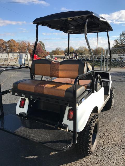 2004 Club Car Electric DS with White Spartan Body Golf Cart